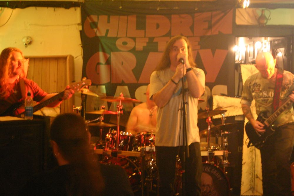 image showing Children of the Gravy rock the Rose & Crown