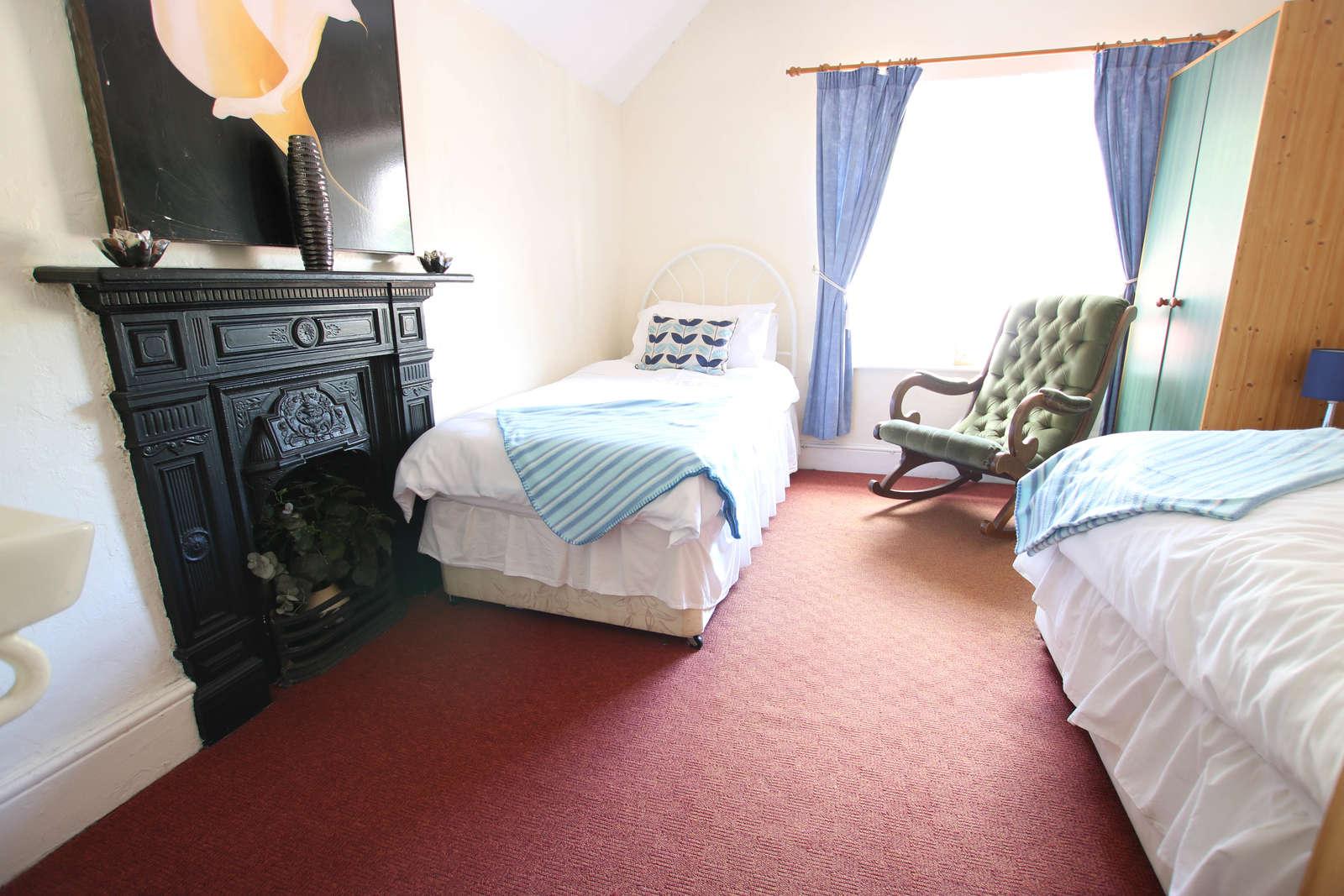 image showing bedroom 4 doorway view