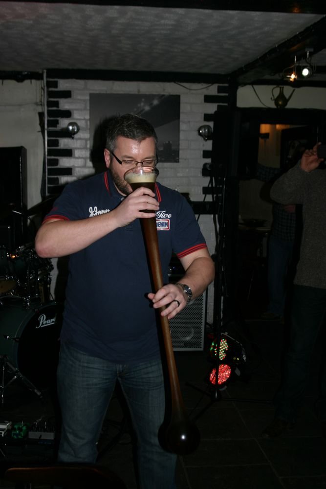 image showing Chris Yard Of Ale 003
