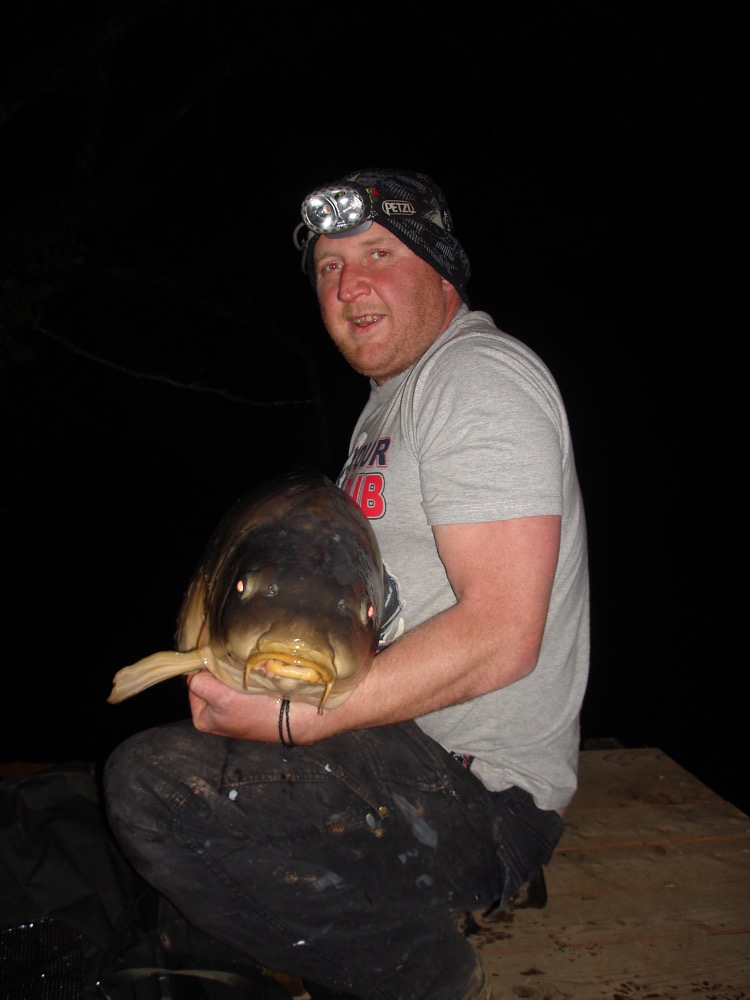 image showing Jason with one of his specimen catches